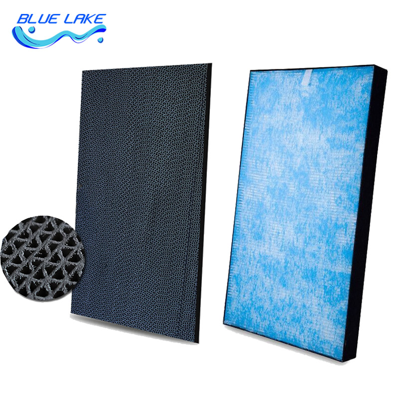 Original replacement Activated carbon filter and Catalyst Dust Filter H12 HEPA for DaiKin ACK70N MCK70M Air