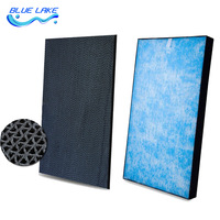 Original replacement,Activated carbon filter and Catalyst Dust Filter H12 HEPA,for DaiKin ACK70N/MCK70M,Air purifier parts