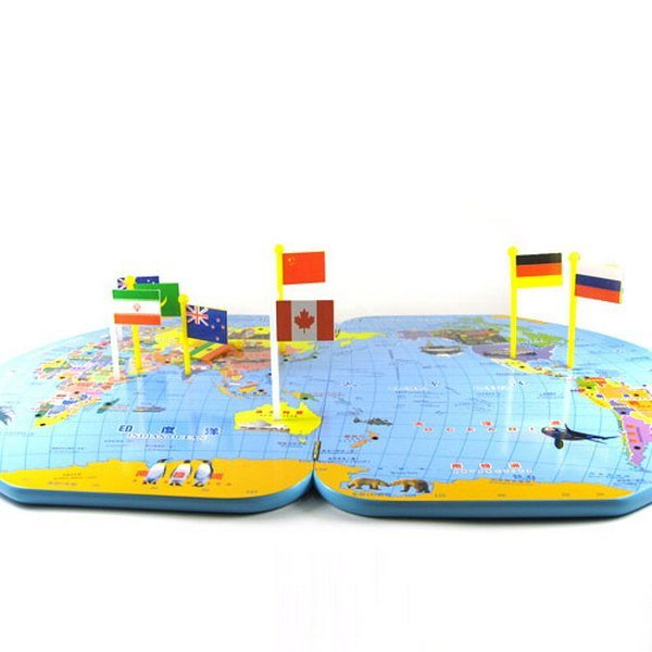 Wooden world map flags toys for kids educational game gift wooden world map flags toys for kids educational game gift wholesales free shipping gumiabroncs Image collections