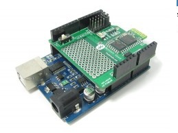 Free shipping Bluetooth Shield for Arduino