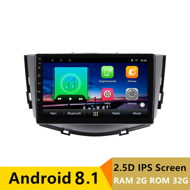 "9"" 2G RAM 32G ROM Android Car DVD Video Player GPS for Lifan X60 2011-2015 audio car radio stereo navigation headunit wifi"
