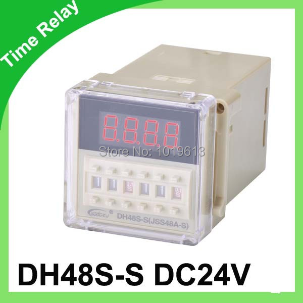 Подробнее о dh48s-s digital time relay dc 24v timer relay with socket signal relay agy2324 ds2y s 24v ds2y s 24 v agy2324
