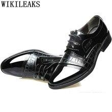 4f55e51ed6 Italiano homens sapatos de crocodilo sapatos formal homens sapatos homens  elegantes sapatos de couro zapatos hombre oxford Coiff.