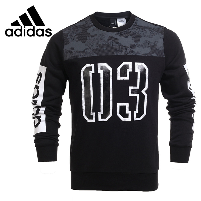 Original New Arrival 2017 Adidas GFX CR SWT CB Men's Pullover Jerseys Sportswear adidas original new arrival official neo women s knitted pants breathable elatstic waist sportswear bs4904