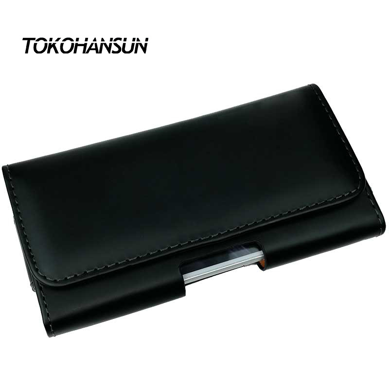 TOKOHANSUN Smooth/Lichee Pattern Pu Leather Mobile Case for blackview BV8000 PRO Pouch Waist Bags Belt Clip Mobile Holder