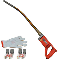 Free Ship By DHL CONCRETE VIBRATOR 35MM STABLE VOLTAGE 800W MOTOR SIMPLE TO HANDLE Construction Tools