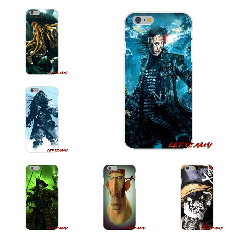 Accessories Phone Cases Covers Pirates of the Caribbeans For iPhone X 4 4S 5 5S 5C SE 6 6S 7 8 Plus