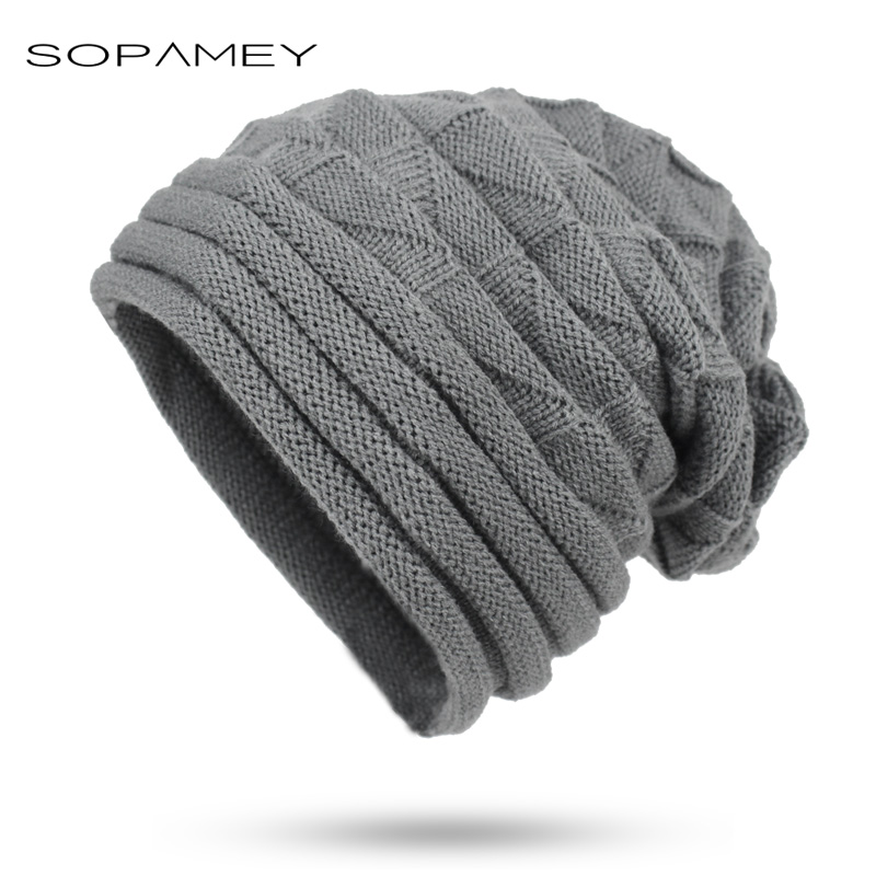 Women's Winter Hat knitted stripe Beanies Female Fashion Skullies Casual Outdoor Ski Caps Solid color Thick Warm Hats for Girl skullies beanies the new russian leather thick warm casual fashion female grass hat 93022