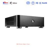 4 шт. Realan H60 компьютерный корпус ПК с алюминиевым корпусом HTPC для материнская плата Mini ITX без блока питания