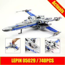 LEPIN 05029 Star First Order Poe s X Fighter wing building blocks X Star wing PLAN