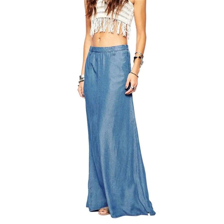 Aliexpress.com : Buy 2017 Summer Autumn Long Maxi Skirt ...