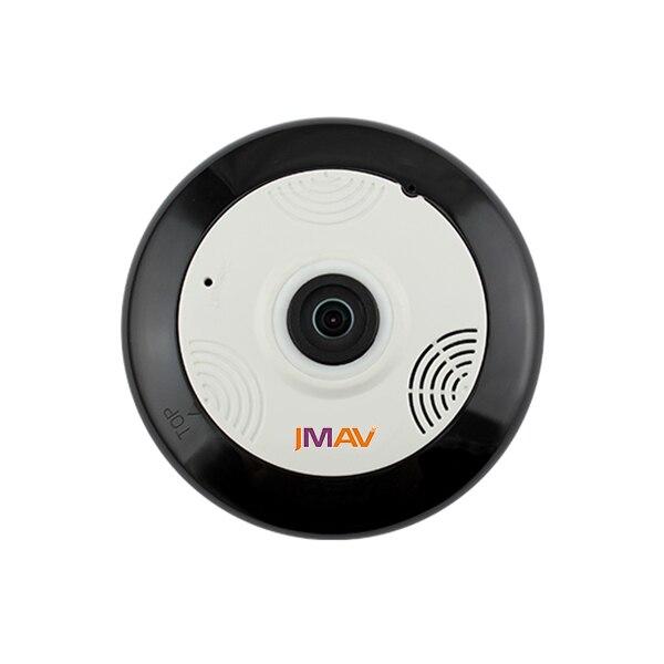 JMAV 720P Mini Wireless IP Camera,360 Degree Fisheye HD WiFi Camera for Home Security / Baby Monitoring / Plug & Play / Video Re