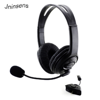 High Quality Game Headphone for Xbox360 Gaming Headset Wired Earphone with Mic Microphone Headset Adapter for Xbox 360 Hot Sale