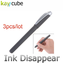 6pcs/lot Magic Auto-Vanishing Ball Point Pen Invisible Disappear Ink Ink-fading Gel Disappearance of Pen