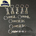 Two-Side 3D car keychain for Mercedes keychains keyring key chain rings for Mercedes Benz A B C E S GL SLK GLK CLS MLcar-styling