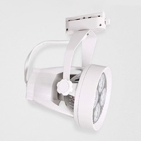 Track Light With Fan Rail Spot Light Clothes Shop Ceiling Lamp Exhibition Hall Gallery Decoration Down