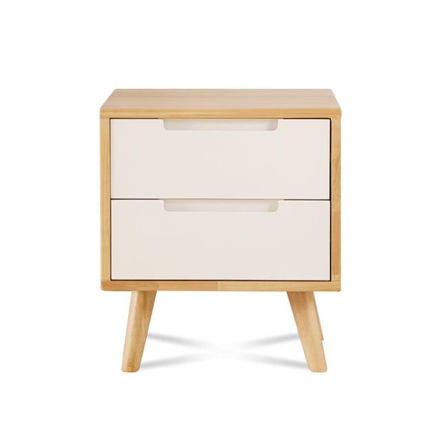 Yatak Odasi Mobilya Nordic European Shabby Chic Wood Quarto Bedroom Furniture Mueble De Dormitorio Cabinet Bedside Table