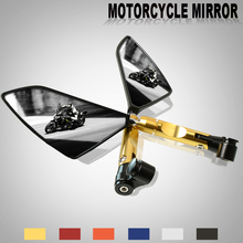 Universal Folding Motorcycle rearview Side mirror 8mm 10mm Accessories kit for yamaha TMAX500 tmax 500 TMAX 530 DX SX