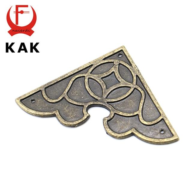 10pcs Kak 54mm X Luggage Case Box Metal Corner Brackets Decorative Protectors Crafts For Furniture Hardware