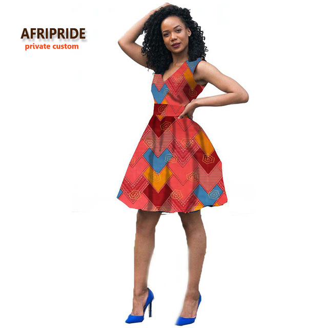 2018 Fashion african style dress for women african clothing robe africaine  bazin riche maxi dress for sexy lady A722523 29483755a