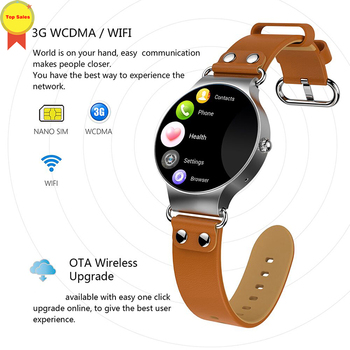 best seller 3G Smart Watch Android 5.1 1.39'' Amoled WIFI GPS Watch Smartwatch FOR iOS Android men waterproof Phone Smart watch