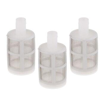 3 piezas de jardín Micro bomba de agua proteger la manguera filtro de malla de Agua Limpia pantalla 10mm