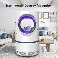 USB фотокаталитическое средство от москитов лампа в помещении питание ловушка для насекомых без излучения встроенный всасывающий вентилято...