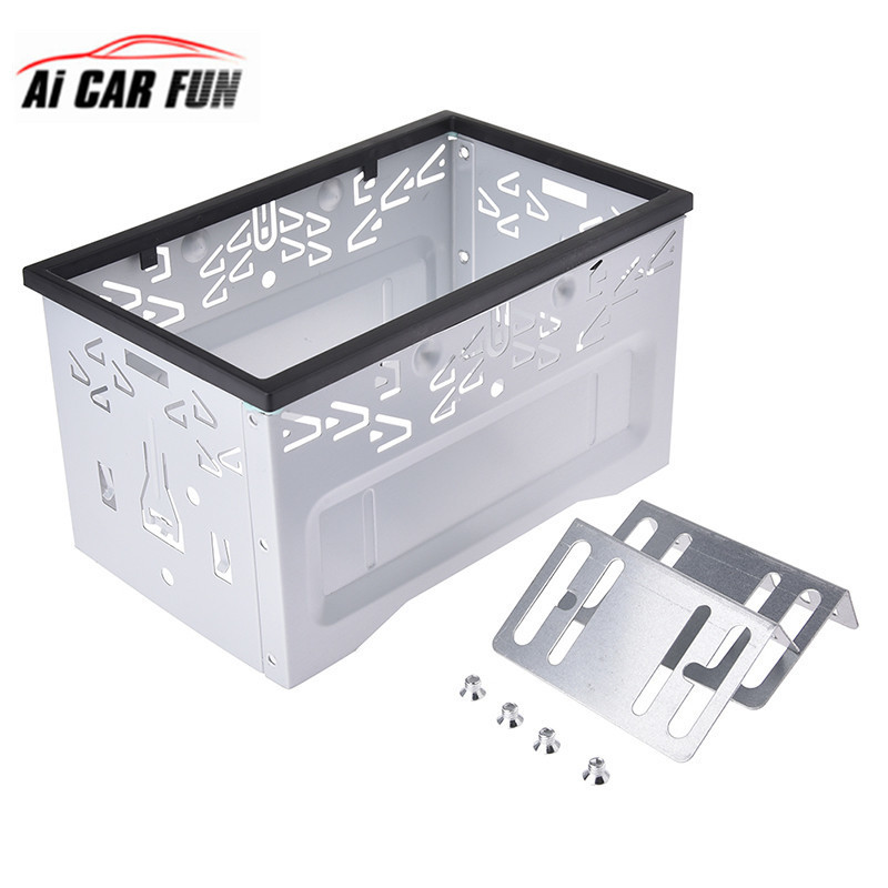 Pumpkin Installation Universal Fascia Frame For <font><b>2</b></font> <font><b>Din</b></font> Android Car DVD Player Car Radio For Volkswagen/Golf/Polo/MK3/Jetta Nissan image