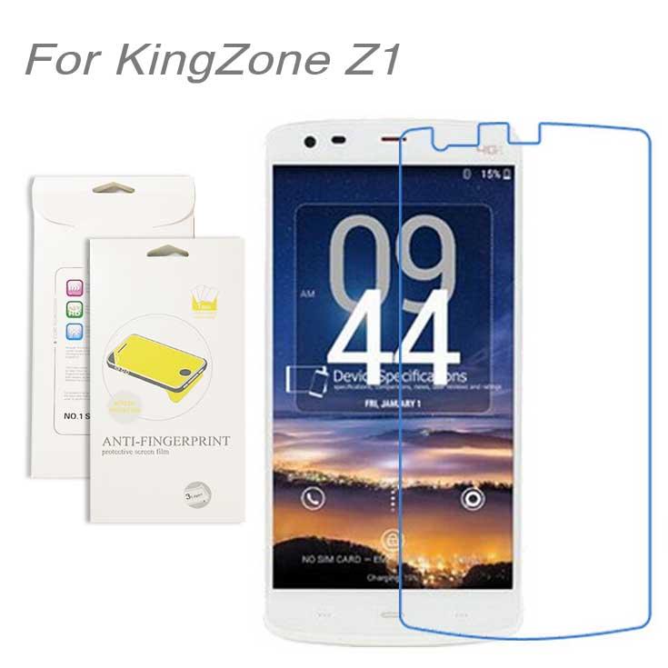 Для KingZone Z1, 3 шт./лот Высокая Ясный Протектор Экрана LCD Фильм Экран Защитная Пленка Экрана Гвардии Для KingZone Z1