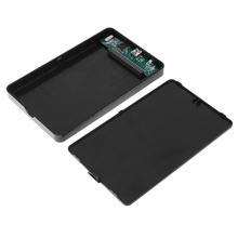 2.5 Inch USB 2.0 to IDE HDD Hard Disk Drive HDD Enclosure External Case Enclosure Box 500GB Portable Case for PC Laptop Desktop