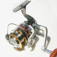 HENGJIA Metal Spinning Reel SG-3000A 5.1:1 6BB collapsible portable baitcasting fishing Reel pike carp isca pesca fishing tackle