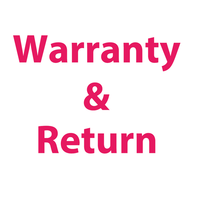 Warranty&Return by holpe store