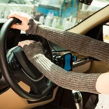 запястье руки грелки манжеты рукава для защиты от солнца перчатки мода нова женщина долго