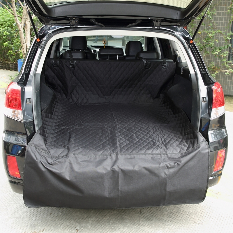 Dog Car Seat Cover 100% Waterproof Pet Carrier Dog Cat Seat Cover  For SUV Pet Barrier Bags Pet Car Seat Dog Car Trunk Can Use