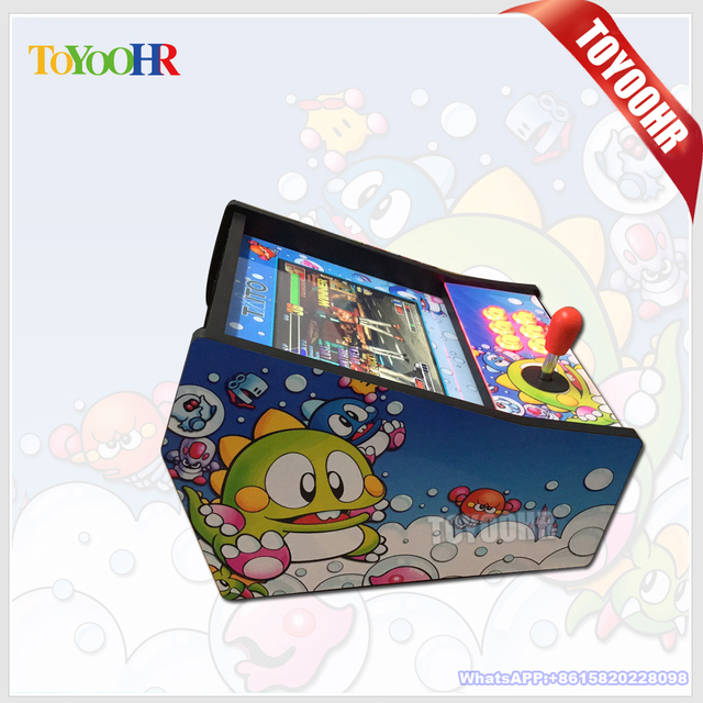 12 Inch Display Arcade Game Console Table Top Game Cabinet /645 In 1  Pandorau0027s Box