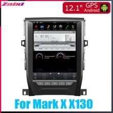 ZaiXi 12.1 Vertical screen android car gps multimedia video radio player in dash for Toyota Mark X X130 2011~2013 car navigaton