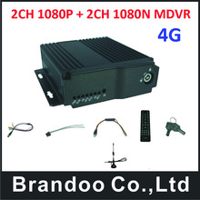 4G Mobile DVR h.264 4G 4CH Mobile DVR mobile Digital Vehicle Recorder for school bus taxi truck