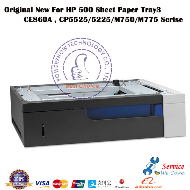 US $495 0  Original New CE860A CE860 67901 500 Sheet Paper Tray3 For HP5225  HP5525 HP M750 M775 Serise-in Printer Parts from Computer & Office on