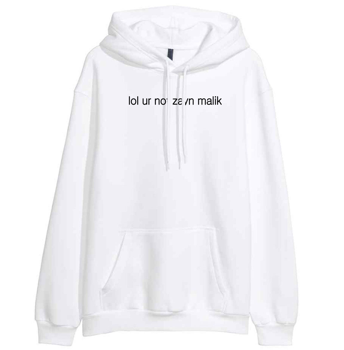 2018 Spring Winter Fleece Hoodies For Women Letter Print LOL UR NOT ZAYN MALIK Casual Womens Sportswear Harajuku Hoody Crossfit