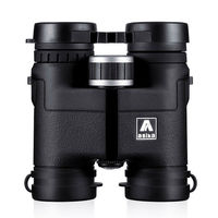 Genuine Asika 8X32 telescope Binoculars for hunting camping waterproof professional binoculares Bird Watching HD Military black