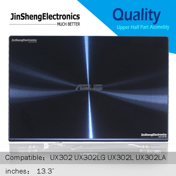 13.3'' LCD Screen Display Back Cover Hinges Complete Assmebly For Asus zenbook UX302 UX302LG UX302L UX302LA Upper Half Part