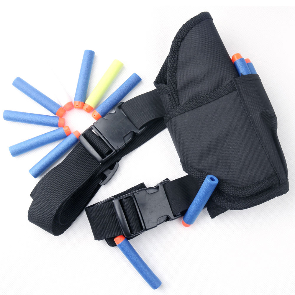 1Pcs Bullet Shooting Tactical Bullet Target Pockets Ammo Holder Bag Soft Nerf Bullet Acc ...