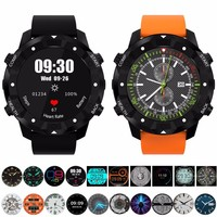 New Version S3 MTK658 Quad core Android 5.1 Smart Watch Mobile Phone with GPS Wifi 16G 1.3Ghz IP67 Smart Watch for IOS Android