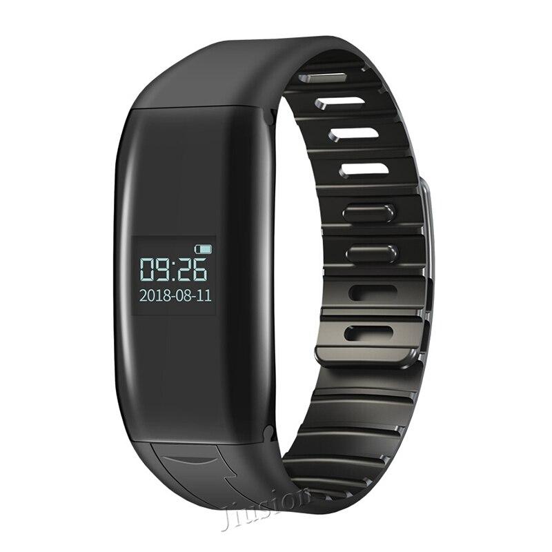 8 GB enregistreur Audio numérique bracelet bruit activé par la voix annuler les fichiers cryptage MP3 lecteur de musique stylo Dictaphone caché