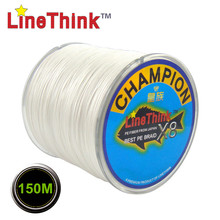 150M GHAMPION LineThink Brand 8Strands/8Weave Best Quality Multifilament PE Braided Fishing Line Fishing Braid  Free Shipping