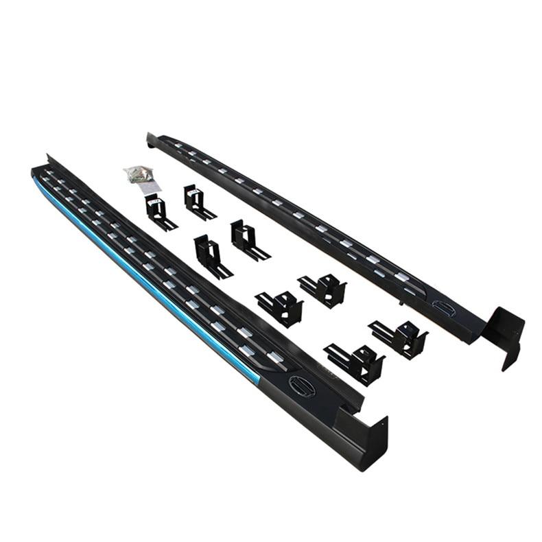 Suitable FOR Volkswagen VW Tiguan 2017 2018 New Design Aluminium Running Board Side Step Nerf Bar