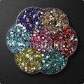 Envío gratis 7000 unids 3 mm Mix Colors acrílico rhinestone hermosa decoración y bricolaje