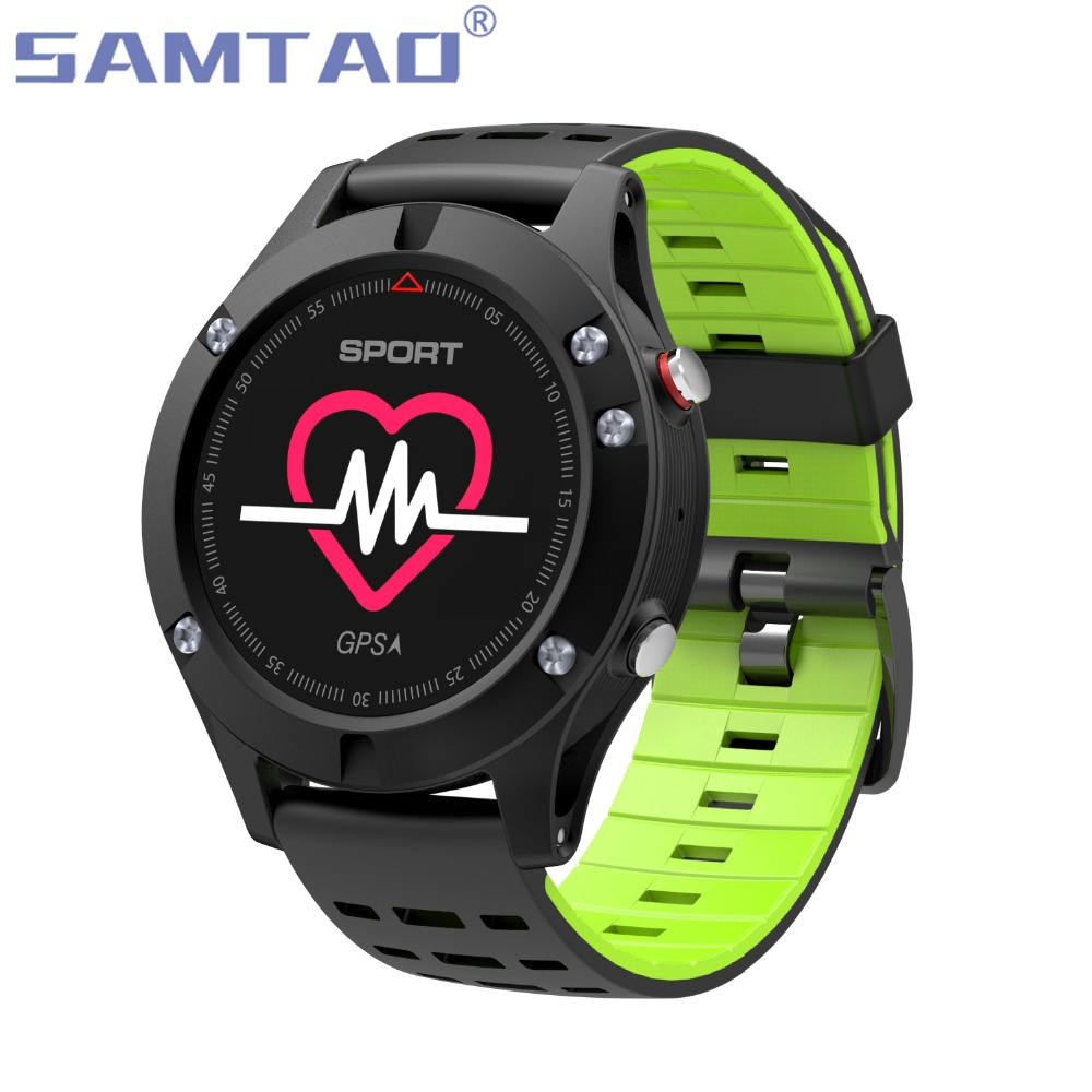 ISANTAO F5 GPS Smart Watch Wearable Devices Activity Tracker Bluetooth 4.2 Altimeter Barometer Thermometer GPS Sport Wristbands dtno i f5 gps smart watch wearable devices activity tracker bluetooth 4 2 altimeter barometer thermometer gps sport watch