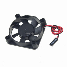 10pcs/lot DC 5V 5CM 50x50x10mm 5010S 50MM Brushless Cooling Cooler Fan 2Pin DuPont