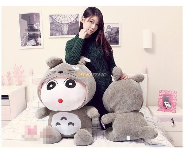 Fancytrader 31\'\' 78cm Giant  Funny Stuffed Soft Plush Totoro Crayon Shin-chan, Free Shipping FT50395 (8)